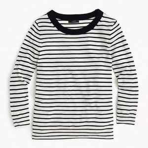 J Crew Striped Tippi Sweater Size L